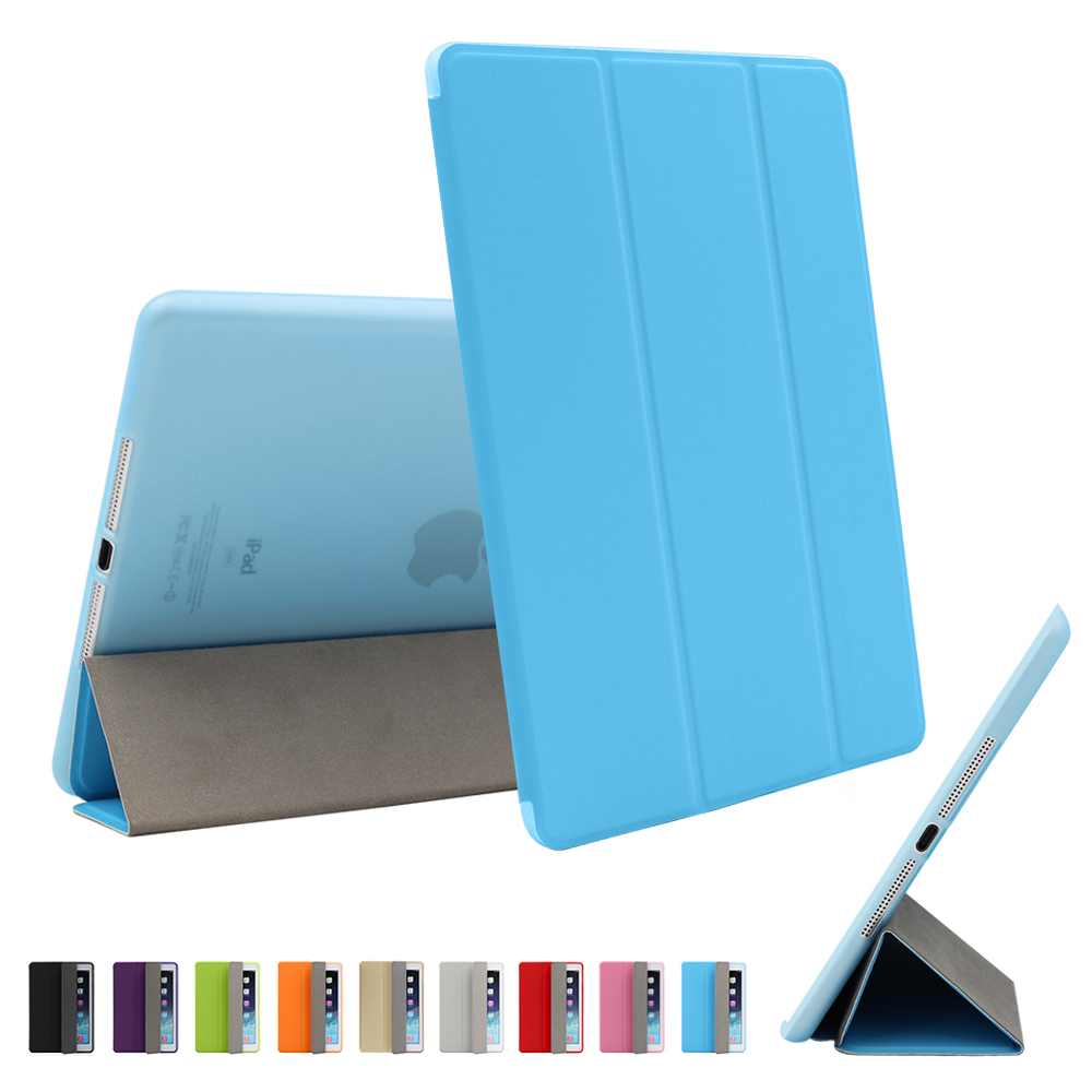 For IPad Air 2 Air 1 Case IPad 2018 Case Funda Ultra Thin PU Leather Silicone Soft Cover For IPad 2018 9.7 6th Generation Case