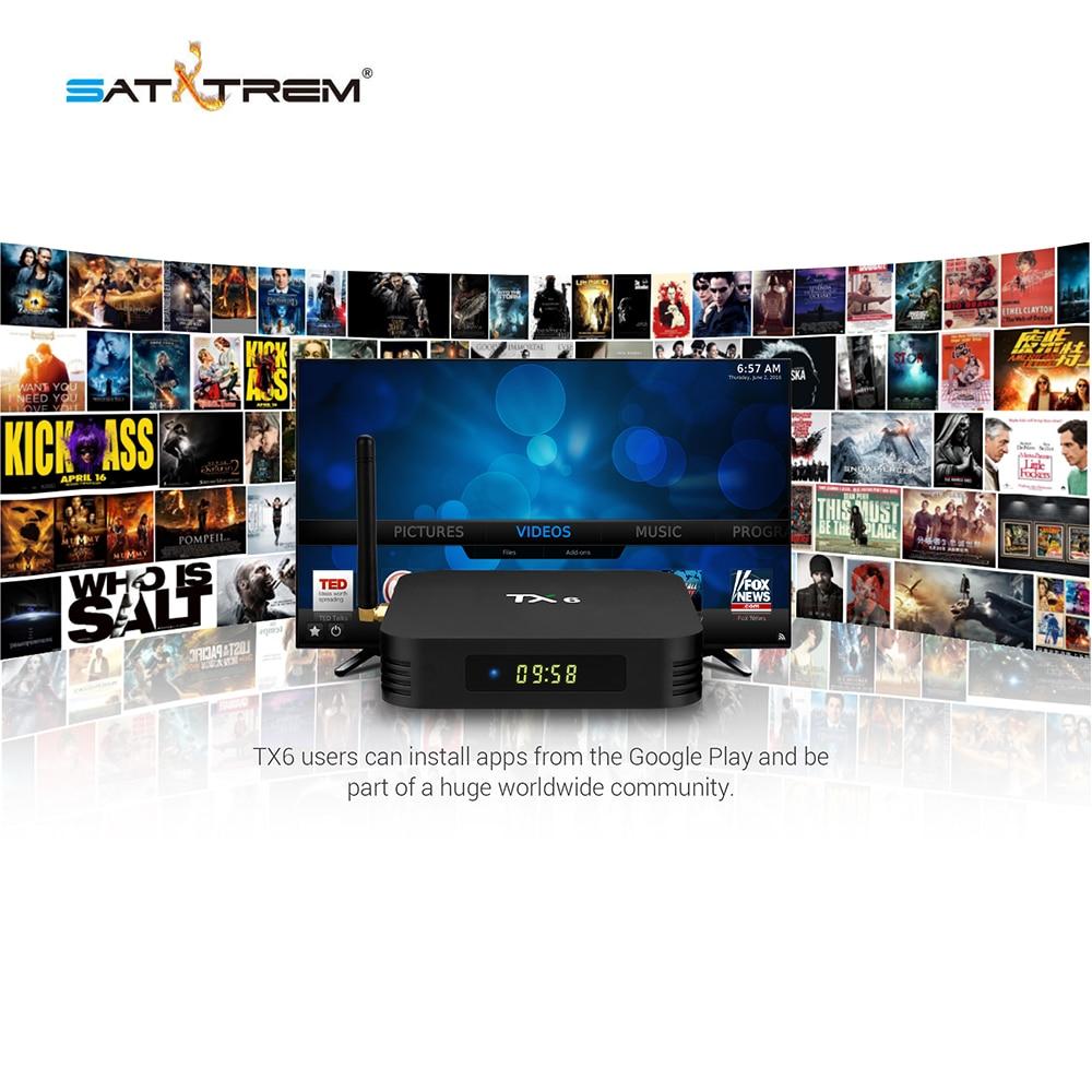 Tanix TX6 caja de TV inteligente Android 9,0 4 K IPTV 4 GB DDR3 32 GB EMMC BT 5,0 soporte Dual wifi 2,4G/5 GHz Youtube H.265 Set Top Box - 2