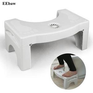 Image 2 - Toaleta stóp stołek łazienka Anti zaparcia dla dzieci składany z tworzywa sztucznego podnóżek stopą kucki stołek wc (nie odświeżacz powietrza)