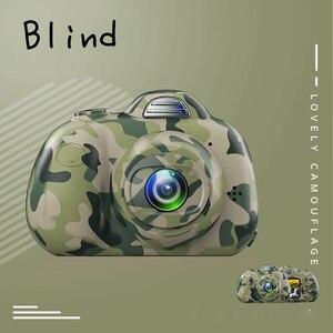 Image 5 - Mini dla dzieci aparat fotograficzny HD 1080P 2.0 cal dzieci z przodu z tyłu podwójny obiektyw cyfrowa kamera wideo rozpoznawanie twarzy Camara Fotografica Cam
