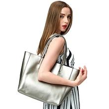 Luxury Handbags Women Cow Genuine Leather Shoulder Bags Brand Large Composite Set Ladies Hand Bag Simple