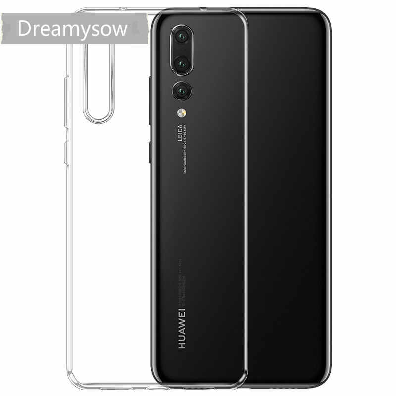Transparent Soft TPU Case For Huawei P20 P Smart Y6 Y9 2018 P8 2017 P9 P10 lite Honor 6X 8 9 6A 7X Silicone Clear Cover Bag