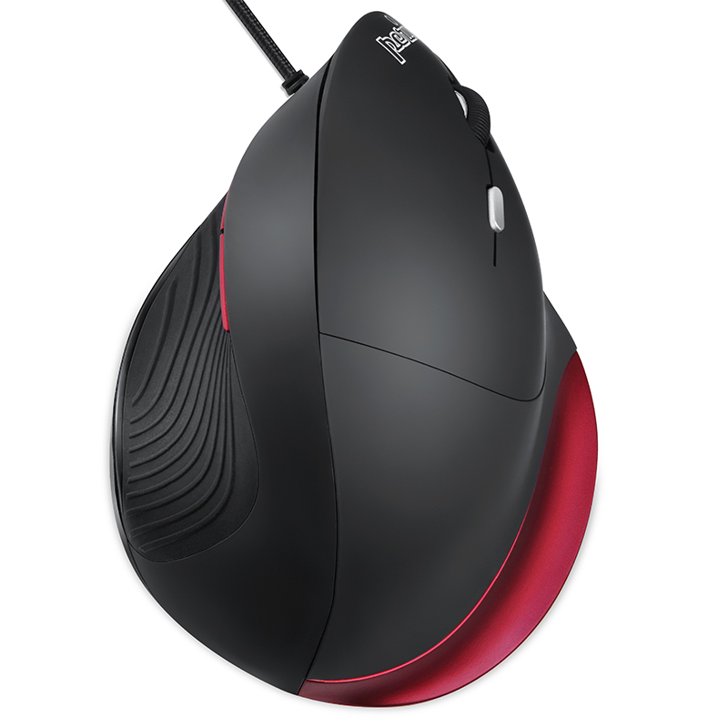 Original Germany perixx PERIMICE 518R Wired Vertical Mouse Vertical programmable optoelectronic ergonomics mouse for big hand
