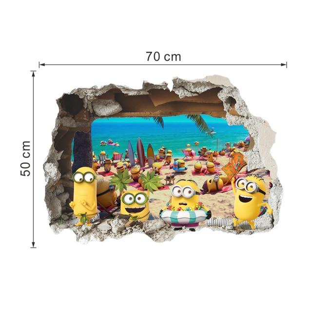 3D Minion Wall Stickers 10