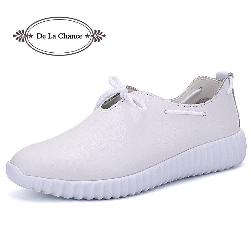 2018 nuevo estilo mujeres vulcanizar zapatos mujer transpirable zapatos planos de las mujeres Zapatillas Zapatos Casual primavera otoño Lace-Up calzado