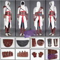 2016 newest Custom-made Adult Men's Assassins Creed I Altair Costume Game Assassins Creed Cosplay Costume Altair outfit