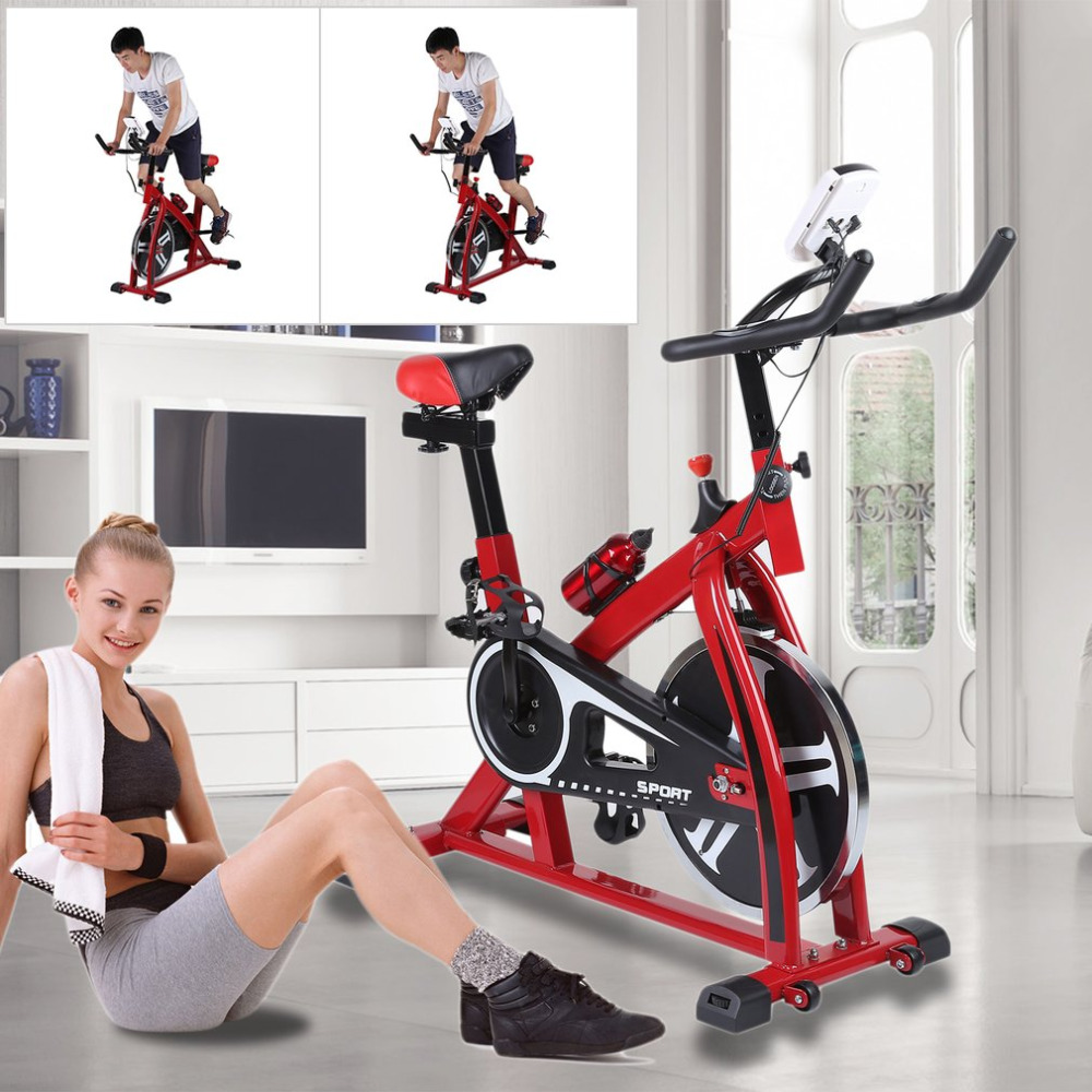 2018 New Cycling Spinning Mini Exercise Bike Equipment Bicycle Indoor Bike Trainer Household Body Building Exercise Fahrrad