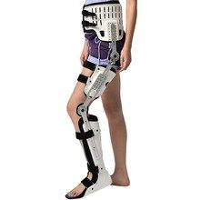 HKAFO Hüfte Knie Knöchel Fuß Orthese Für Hüfte Bruch Femoral Femur Bruch Hüfte Instabilität Fixierung Der Unteren Gliedmaßen Lähmung Bein