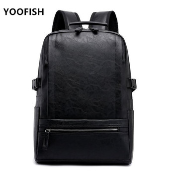 2020 Hot! Men fashion backpack male travel backpack mochilas school mens leather business bag large laptop shopping travel bag joyir women backpack genuine leather fashion travel backpack mochilas school leather shopping travel bags schoolbags for girls
