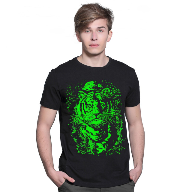 Alisister 2017 XXXL Tops&Tees Casual Hip Hop Luminous T-shirt Mens Fashion 3D T Shirt Factory Price Men's T-shirts For Men Women