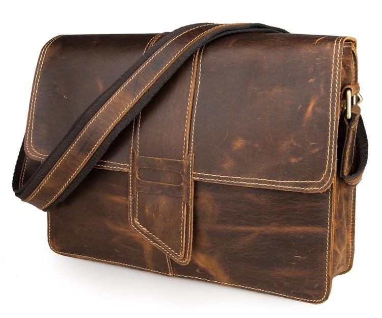 Wysokiej jakości oryginalna skórzana torba kurierska damska Torba - Torebki - Zdjęcie 3
