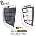 KEYECU 433 МГц FCC ID: NBGIDGNG1 дистанционный ключ-брелок от машины для BMW X5 X6 2014-2016