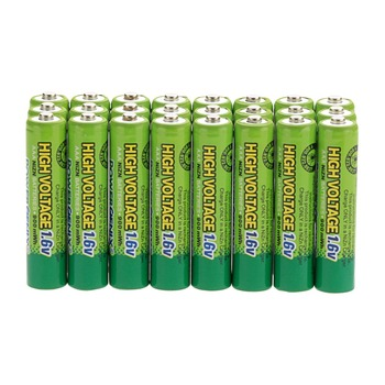 20pcs High Voltage 1.6V 900mWh AAA NiZn Battery Ni-Zn Rechargeable Batteries AAA