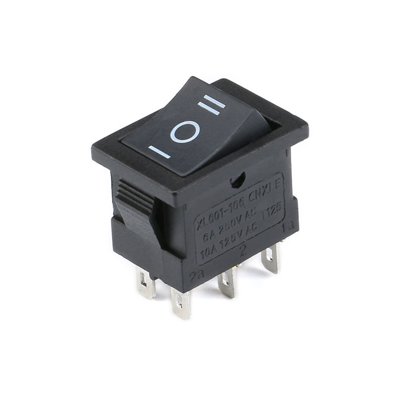 1PCS KCD1 2PIin 3Pin Boat Car Rocker Switch 6A10A 250V125V AC Red Yellow Green Blue black Button Best Price KCD1 (5)