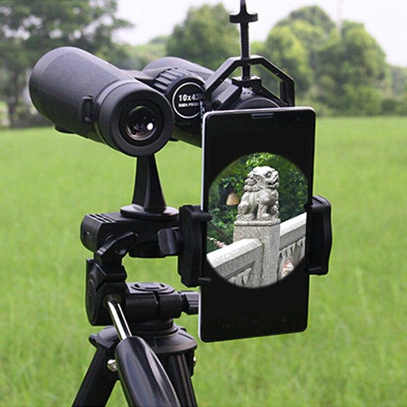 Mount Binocular Microscope Smartphone-Adapter for Universal