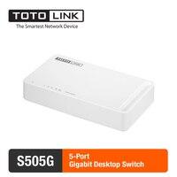 TOTOLINK S505G 5 Port 10 100 1000Mbps Gigabit Desktop Switch