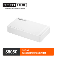 TOTOLINK S505G 5 Port 10 100 1000Mbps Gigabit Desktop Switch