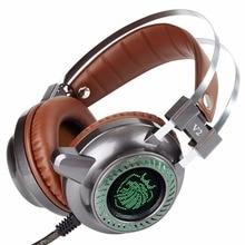 Newest Stereo V2 font b Earphone b font Gaming Headset gamer LED Light Hi Fi Headphones