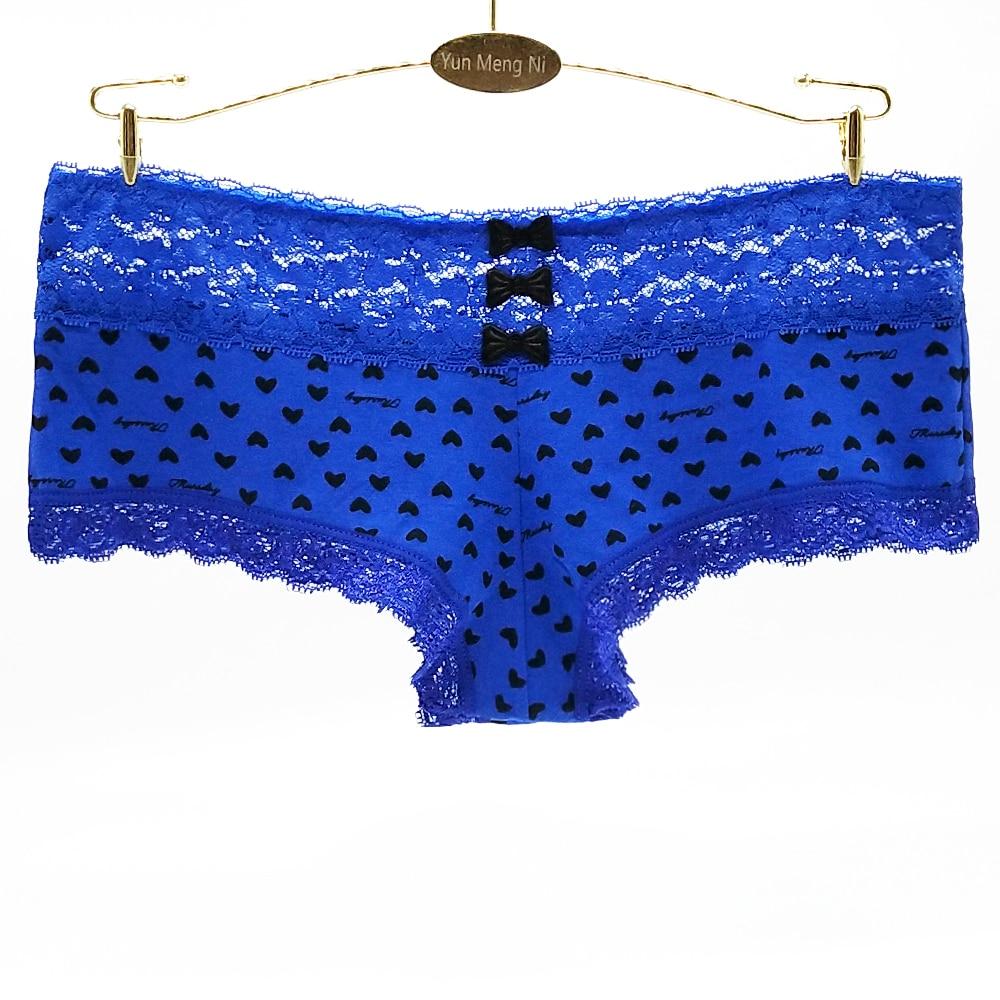 Pack Lot Big Polka Dot Tap Me Women COTTON Cheeky Hipster Bikini Panty S//M//L//XL