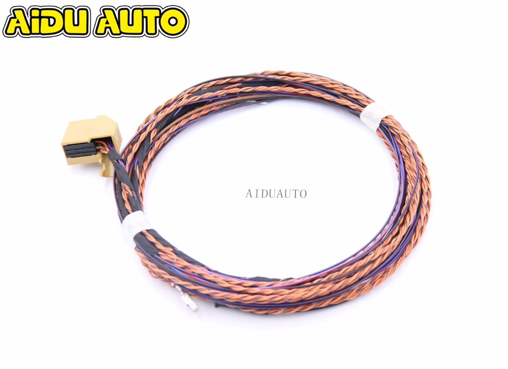 Rear OPS 4K Parking Canbus Install Wire Cable harness For VW Polo Golf Jetta GTI Passat CC Octavia All PQ35 PQ25 PQ46 Car