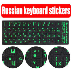 Standard waterproof russian language keyboard stickers layout with button letters alphabet for computer keyboard protective film.jpg 250x250