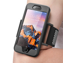 For iPhone SE 2020 Case For iPhone 7 8 SUPCASE Armband Easy Fitting Sport Running Armband Case WITHOUT Built in Screen Protector