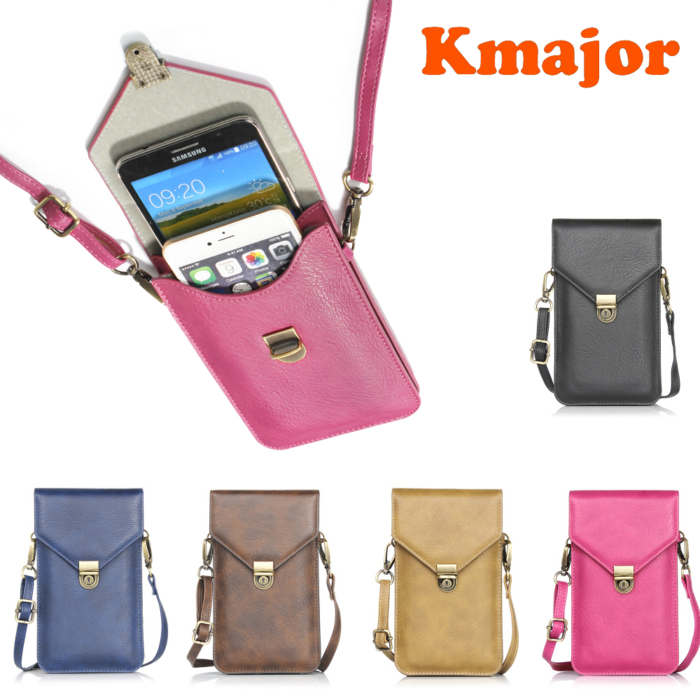 Universal Phone Bag Pouch Neck Strap Wallet <font><b>Case</b></font> For <font><b>Samsung</b></font> Galaxy S5 S7 S6 S8 S9 Note 3 4 6 7 8 9 Plus <font><b>Edge</b></font> J3 j5 j7 2016 2017 image