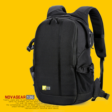 NOVAGEAR 136 DSLR Camera Bag Photo Backpack Universal Large Capacity Travel For Canon/Nikon