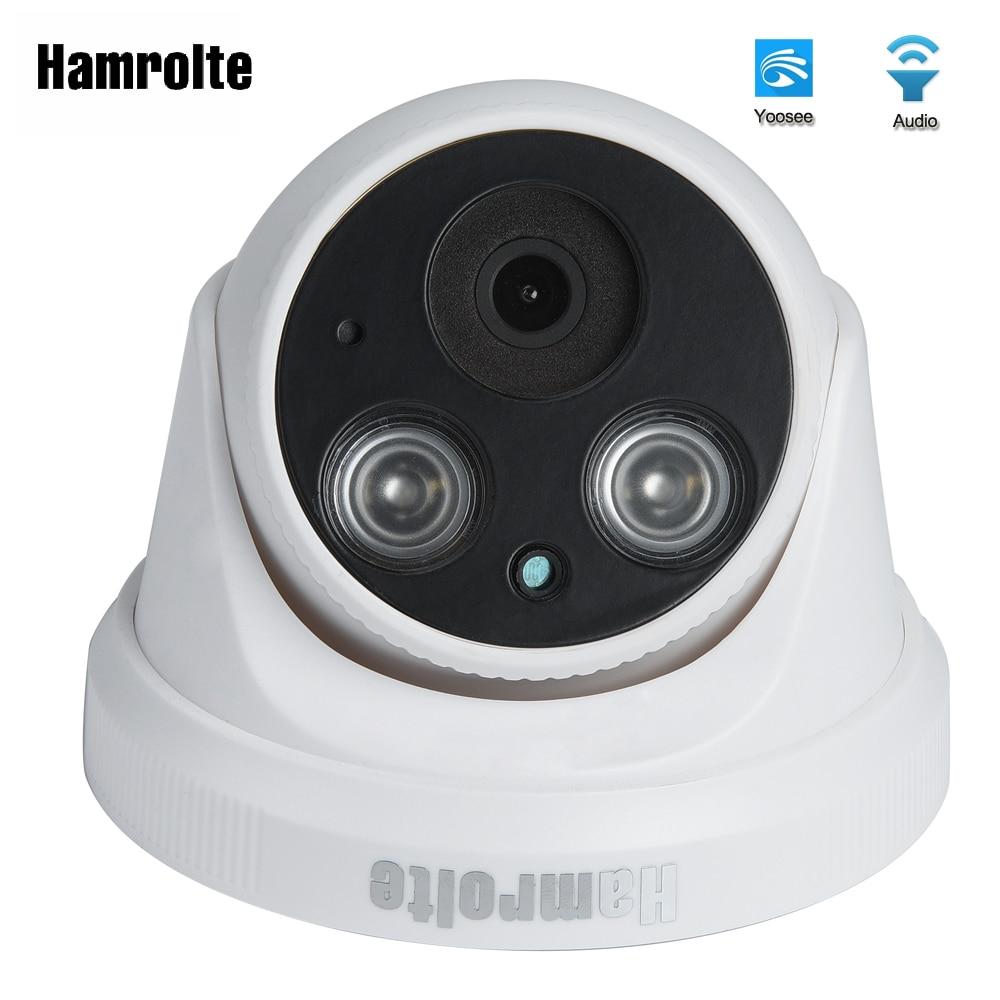 Hamrolte Yoosee Wifi Kamera 1080 p/960 p/720 p Verdrahtete Drahtlose Indoor Nightision ONVIF IP Kamera Interne mic Unterstützung Audio Record
