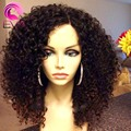 Glueless Full Lace Human Hair Wigs For Black Women 8A Grade Afro Kinky Curly Wig Short Human Hair Wigs Brazilian Lace Front Wig