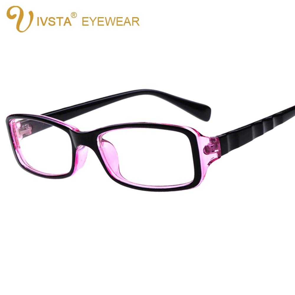 ivsta vintage glasses women optical frame prescription eyewear purple myopia eyeglasses custom degree lenses 2118 clear
