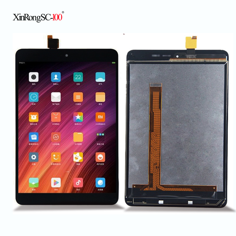 New For Xiaomi Mipad Mi Pad 1 A0101 Touch Screen Digitizer Glass+LCD Display Assembly Panel Replacement Black