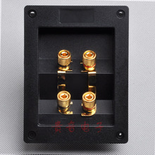Speaker terminal box copper terminal diy accessories amplifier audio terminal block thickening/Free Shippping