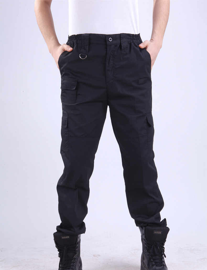 ... Cargo Pant Men Black Pants Military Style Casual Pantalones  WinterTactical Pants Police Security Duty Work Trouser ... cafc3ada75f