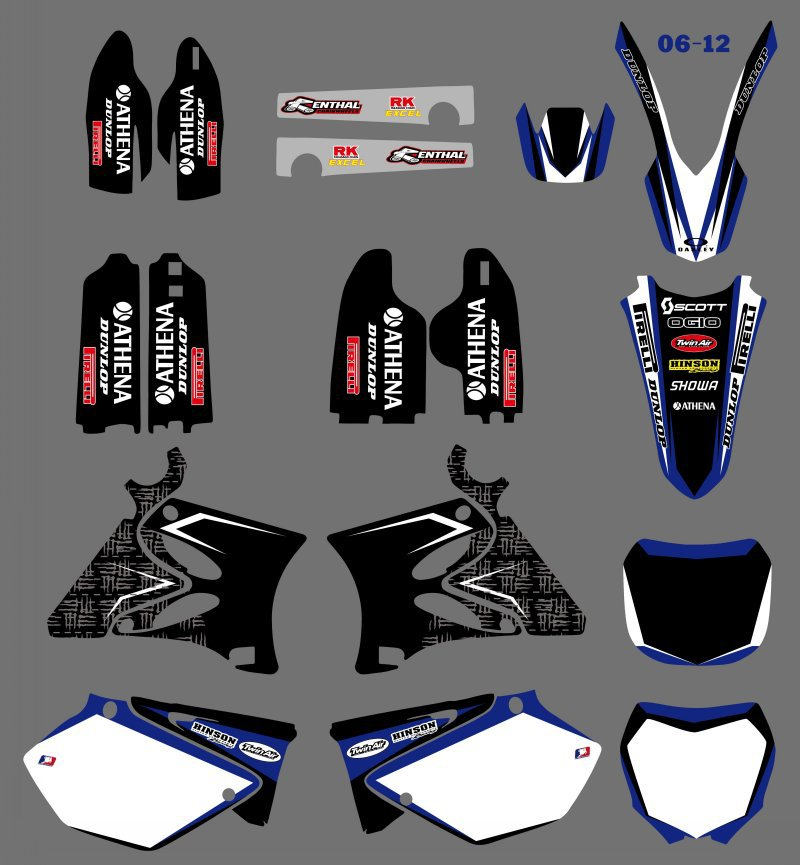 GRAPHICS DECALS FOR YAMAHA YZ85 02 03 04 05 06 07 2008 09 10 11 12 13 14 H