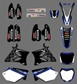 0126 New Style TEAM GRAPHICS&BACKGROUNDS DECALS STICKERS Kits for  YZ125 YZ250 2002 03 04 05 06 07 08 09 2010 2011 2012
