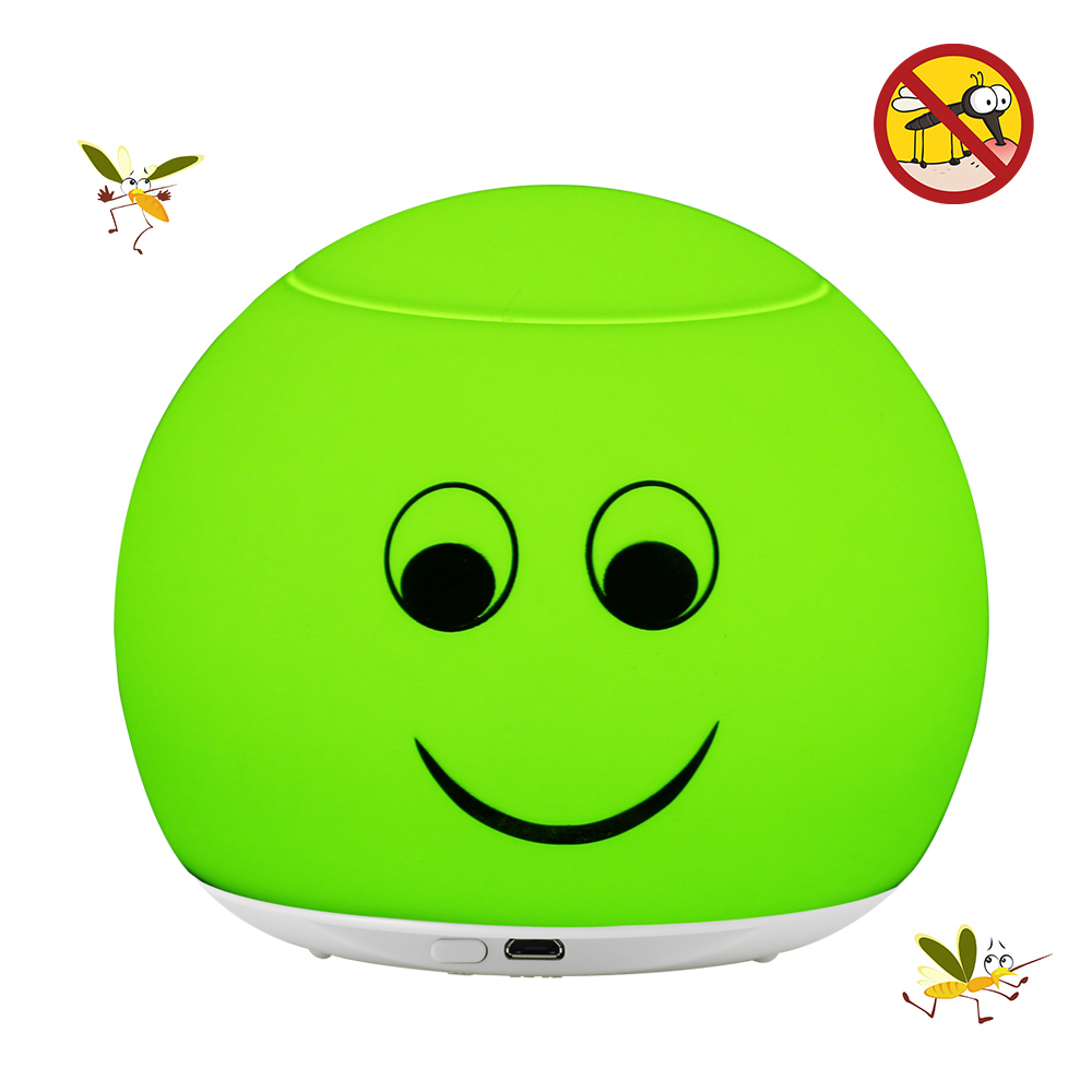 Mosquito Repellent Light Insect Repelling Lamp Bedroom Baby Human Radiation-free LED USB Rechargeable 3ModesLED Night Light mini night light insect mosquito repellent mosquito flies housefly home safe free shipping