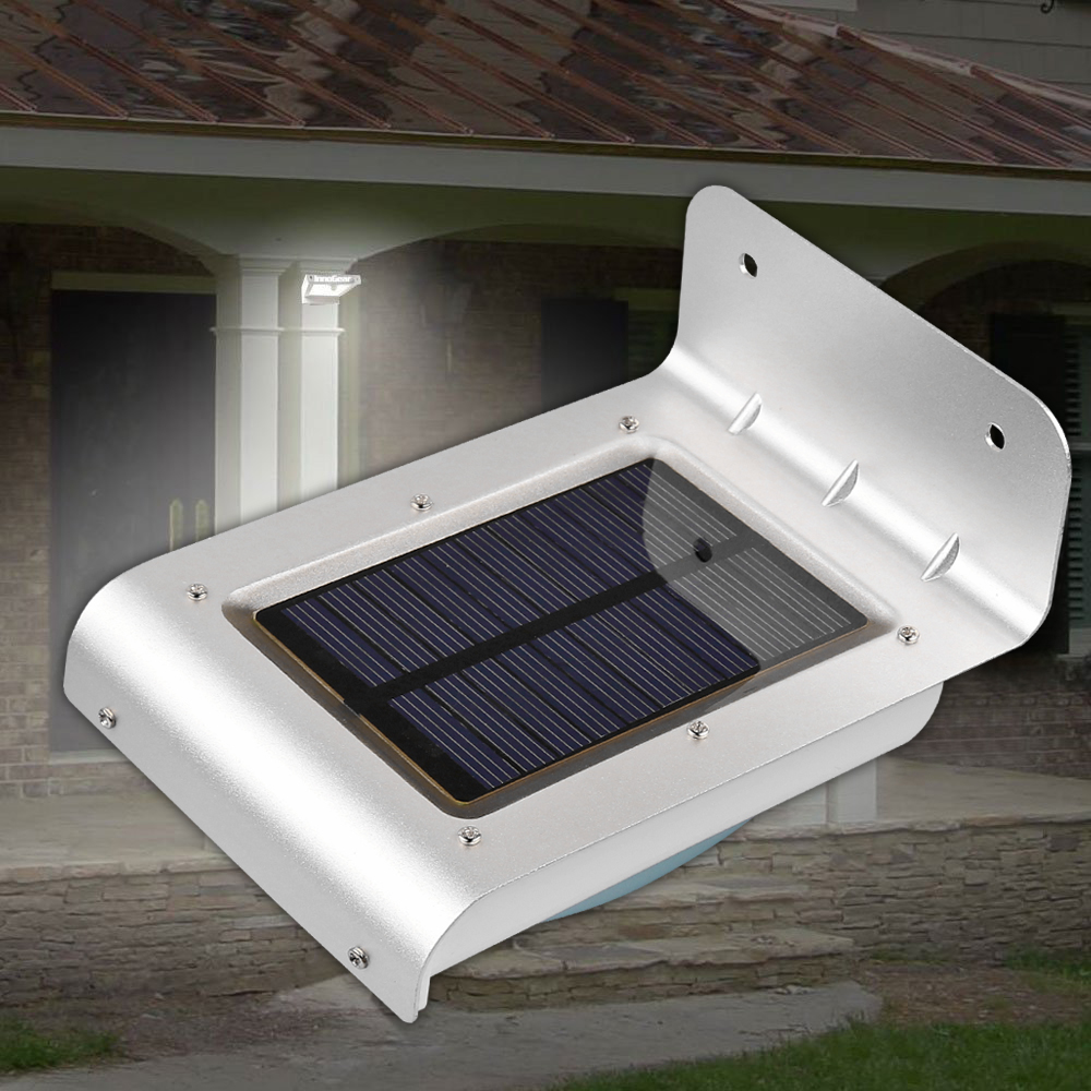 Konesky 24 Led Motion Sensor Light Waterproof Solar Ed Lamp