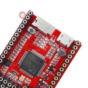 Image 5 - Elecrow Python Placa de núcleo Cuervo Pyboard microcontrolador desarrollo MicroPython STM32F405RG para Pyboard módulo de aprendizaje