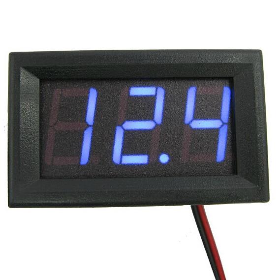Mini 1 arvutid Uus alalisvoolu 0–30 V LED-paneelpinge mõõtur - Mõõtevahendid - Foto 2