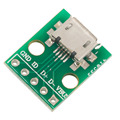 Hot Selling! MICRO USB to DIP Adapter 5pin Female Connector B Type PCB Converter