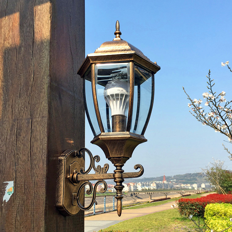 Nordic Villa Wall Lamp home Restaurant Light  Stairway Balcony Bar Water Pipe Industrial Wind Iron Wall Light ZA623 ZL167 YM