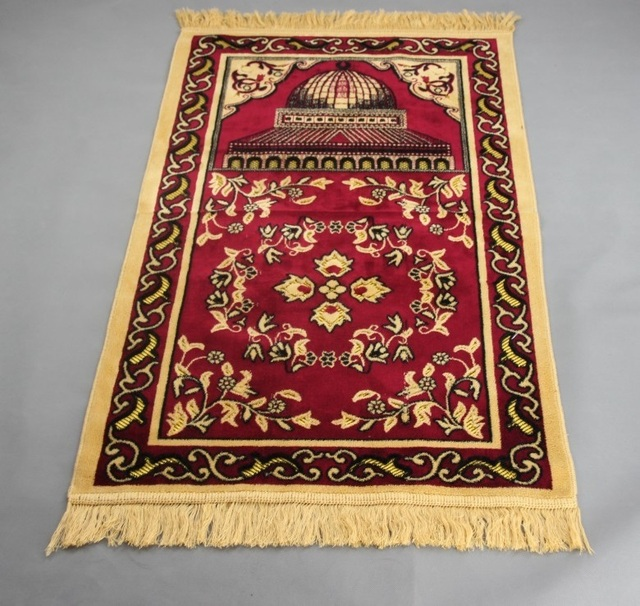70 110cm Wool Jacquard Ic Muslim Prayer Mat Salat Mus Rug Tapis Carpet Tapete