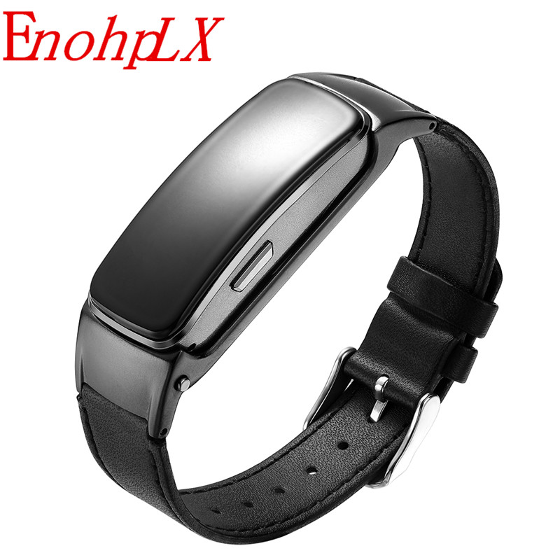EnohpLX B3 Plus Smart Wristband Bluetooth Headset Answer/End Call Alarm Message Run Walk Sleep Auto TrackEnohpLX B3 Plus Smart Wristband Bluetooth Headset Answer/End Call Alarm Message Run Walk Sleep Auto Track