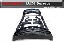 Стекловолокно FRP кузов комплект пригодный для 2010 — 2014 Chevrolet Camaro DP Bodykits передний задний бампер боковые юбки крыло вспышки вентиляционные отверстия