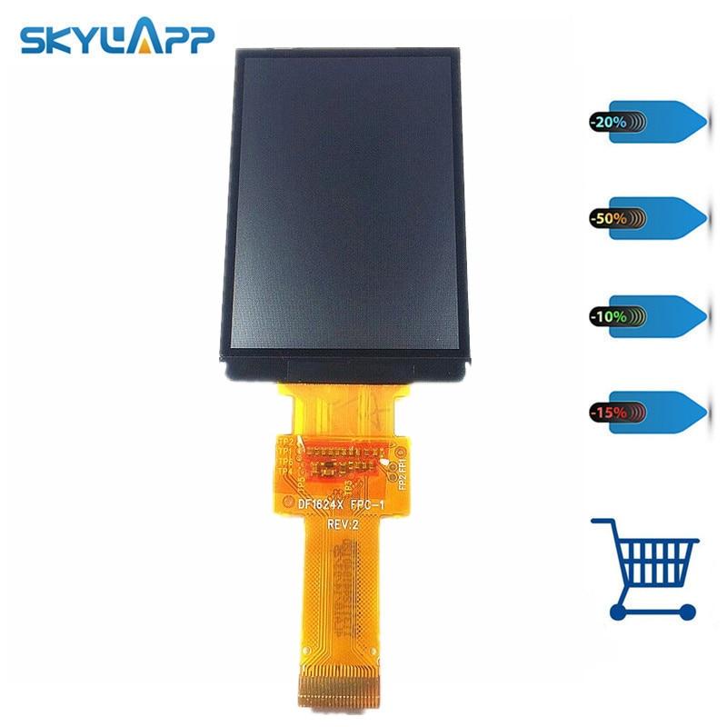 все цены на Skylarpu New 2.6 inch DF1624X FPC-1 RE:V for GARMIN GPSMAP 62stc display screen Repair replacement (Without backlight) онлайн