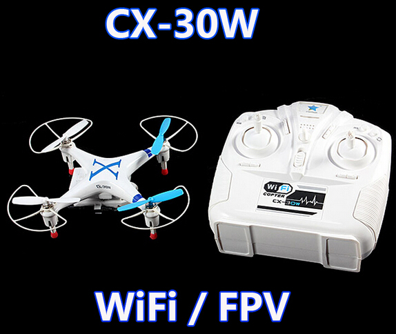 Original Cheerson CX-30W CX30W WiFi RC Quadcopter with remote control with 6-Axis Gyro / Camera RTF 2.4Ghz