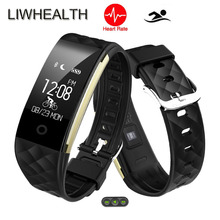Distant Music/Digital camera Good Wristband Swim Waterproof Watch Coronary heart Charge Cardiaco Monitor APP GPS For IOS/Xiaomi/Sony PK Mi band 2/3