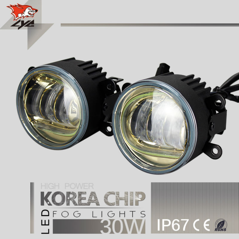 Lyc Small Projector Headlight Fog Lamp For Jeep Flexible