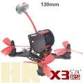 DIY FPV мини гоночный QAV-X3 RS 130 мм quadcopter drone 3 К чистого углеродного волокна рамка для 3045 3030 3 дюймов пропеллер